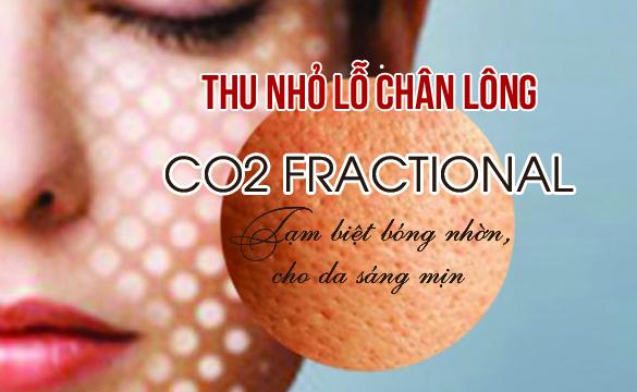 Thu nhỏ lỗ chân lông CO2 Fractional