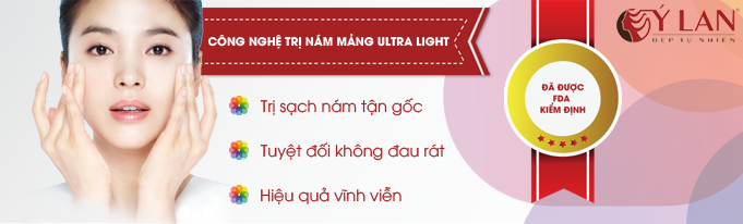 Trị nám mảng Ultra Light