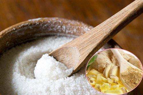 Cách giảm mỡ bụng dưới bằng muối rang