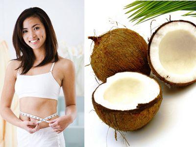 Giảm béo bụng bằng dầu dừa