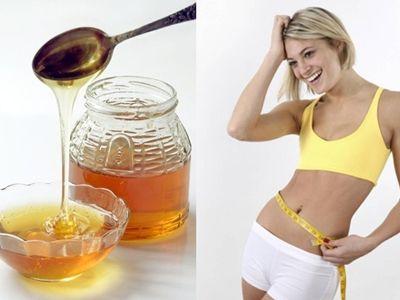 giảm béo bụng bằng mật ong