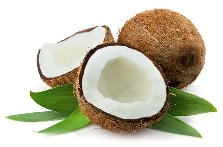 Trị nám bằng quả dừa