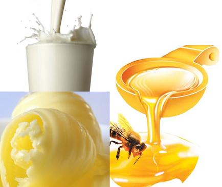Tắm trắng toàn thân bằng mật ong