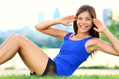 Cách giảm mỡ bụng không cần thuốc