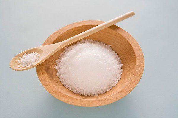 Giảm mỡ bụng với muối