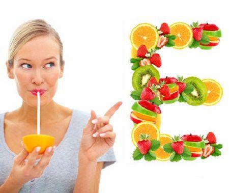Trị tàn nhang bằng vitamin E