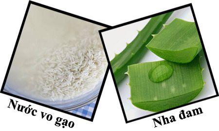 Xóa tàn nhang bằng nước vo gạo