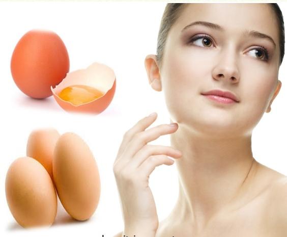 Làm trắng da bằng lòng trắng trứng