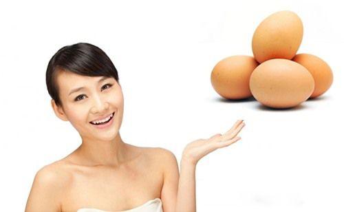Cách chữa mụn bằng trứng gà