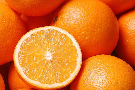 làm trắng da bằng quả cam