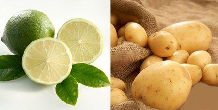 Làm trắng da từ khoai tây