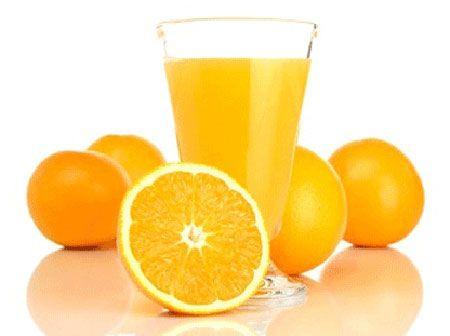 Làm trắng da với quả cam
