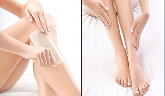 Tẩy lông tay chân tại nhà