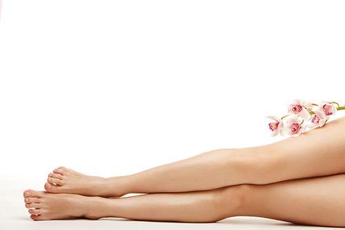 Trị sẹo chân
