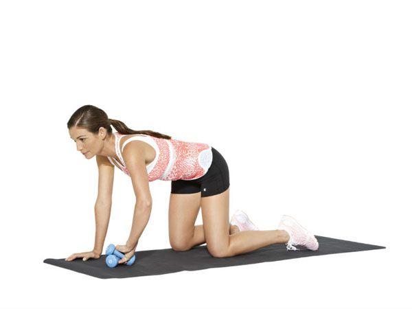 Cách làm giảm mỡ phần bắp tay