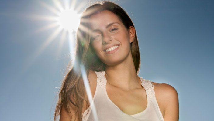 Làm trắng da khi bị cháy nắng
