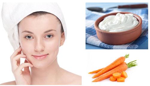 Tắm trắng bằng cà rốt