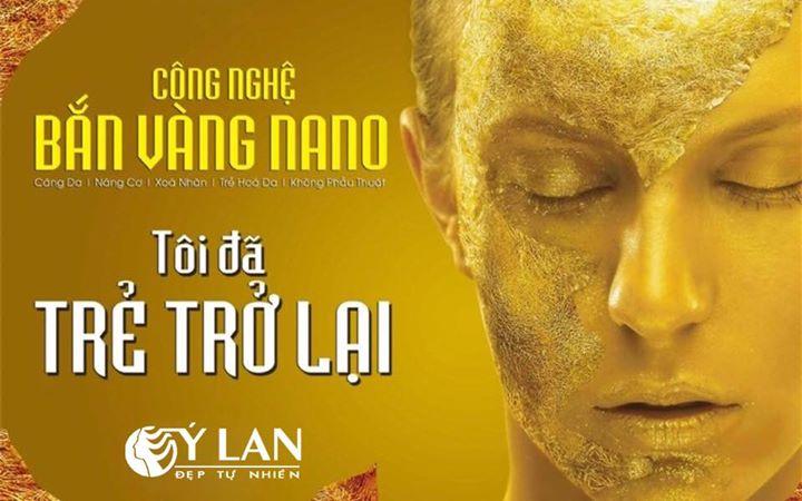 Xóa nhăn, căng da mặt với công nghệ bắn vàng Nano mới nhất