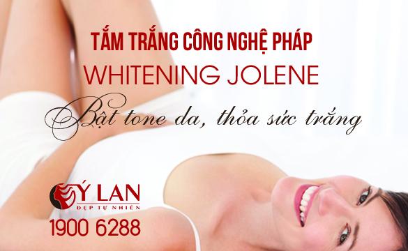 Tắm trắng Whitening Jolene