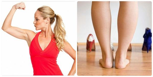 Giảm béo bắp chân và bắp tay bằng cách nào?
