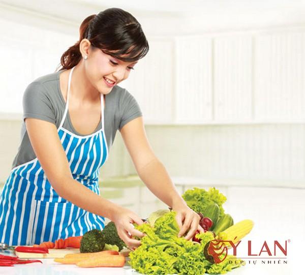 Trị nám da cho bà nội trợ với các nguyên liệu có sẵn trong bếp