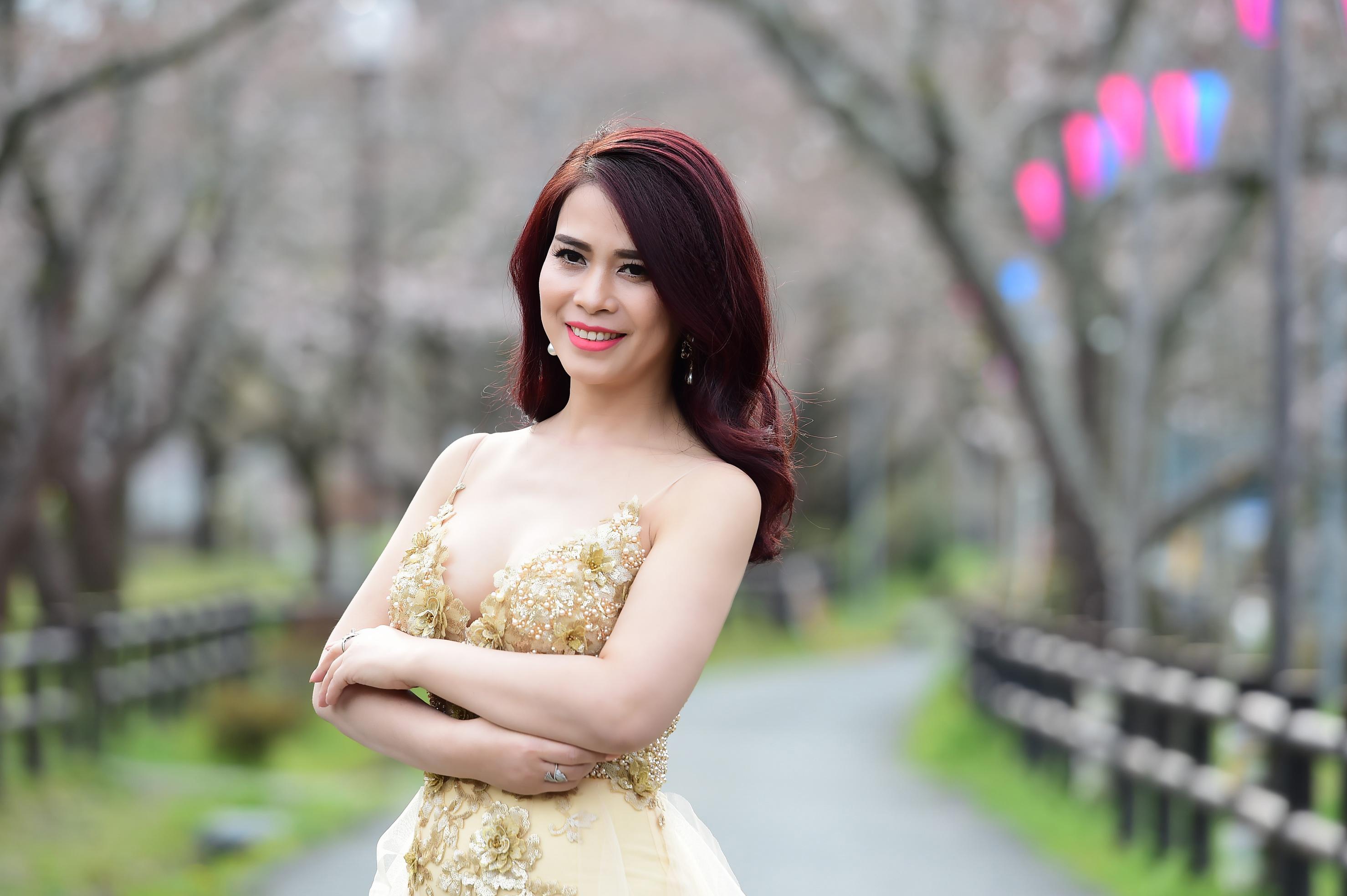 Báo chí và giám đốc Trần Ngọc Lan trong cuộc thi Hoa hậu Doanh nhân người Việt châu Á 2017
