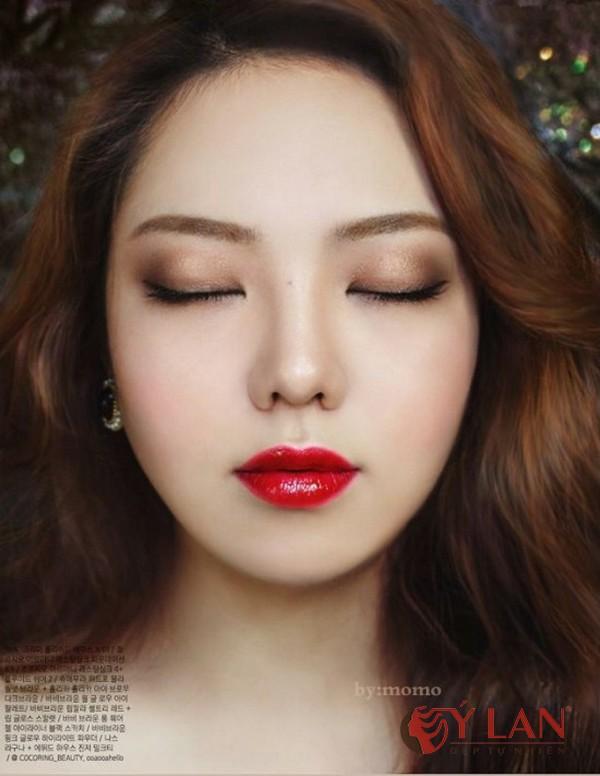 màu môi xăm đẹp