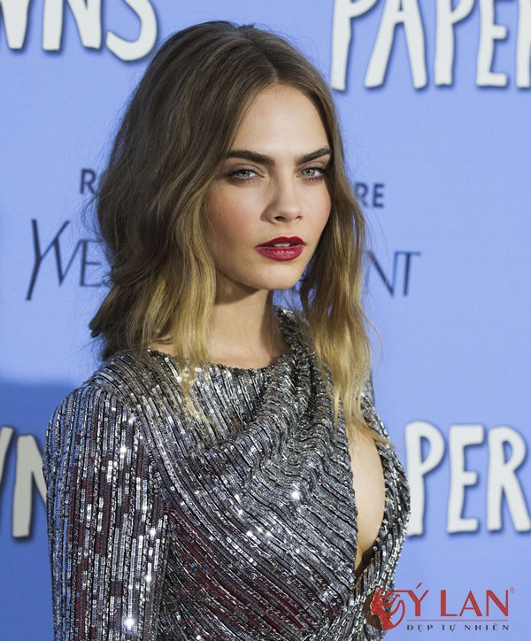 New York premiere of 'Paper Towns' held at AMC Loews Lincoln Square - Arrivals Featuring: Cara Delevingne Where: New York, New York, United States When: 21 Jul 2015 Credit: WENN.com