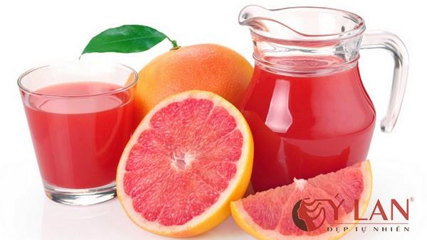 Giảm cân, bài độc cơ thể nhanh gọn chỉ với nước ép bưởi và cà rốt
