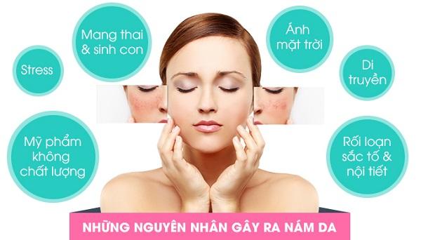 """""""Vạch mặt"""" 5 nguyên nhân thường gây nám da, sạm đen bạn cần biết"""