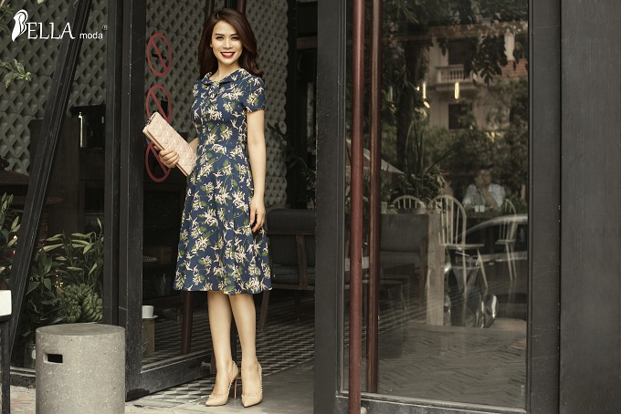 Á hậu Ý Lan quyến rũ với BST 'Hương trà' của Bella Moda