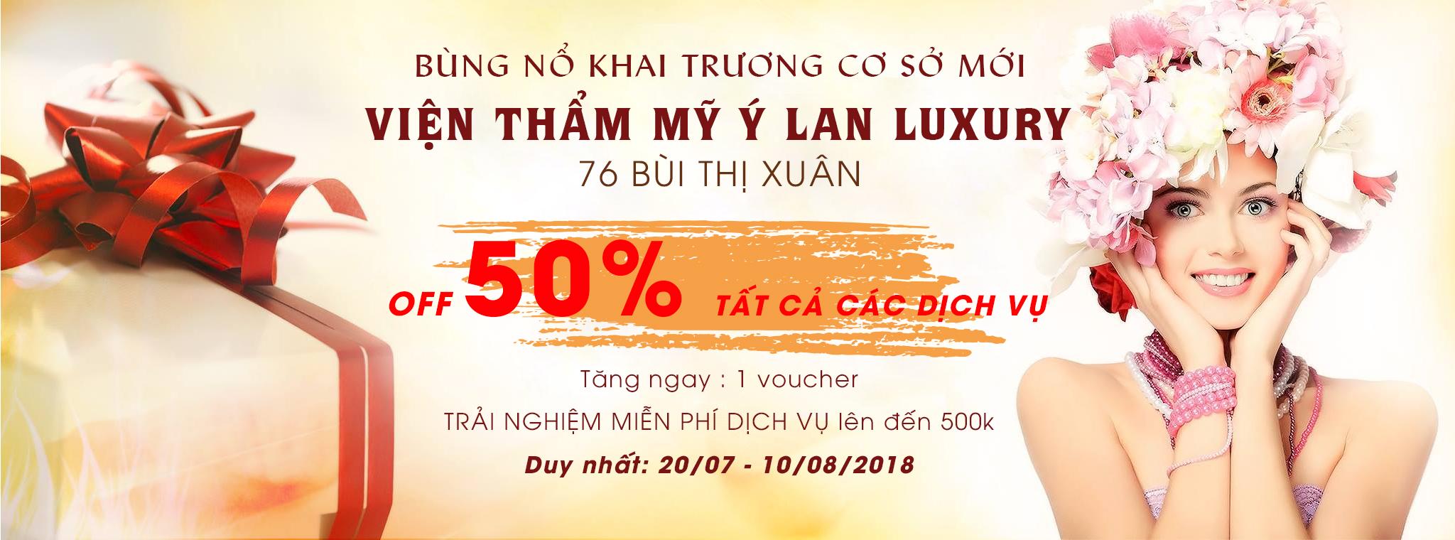 Bung_no_khuyen_mai_mung_khai_truong_co_so_2_Vien_tham_my_Y_Lan_Luxury
