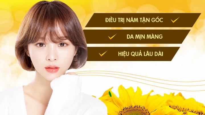Thẩm mỹ viện chuyên trị nám da hiệu quả tốt nhất Hà Nội